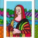 """""""Mona Lisa"""" by Romero Britto"""