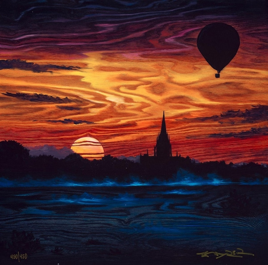 """""""Rising into the Horizon,"""" Matt Beyrer"""