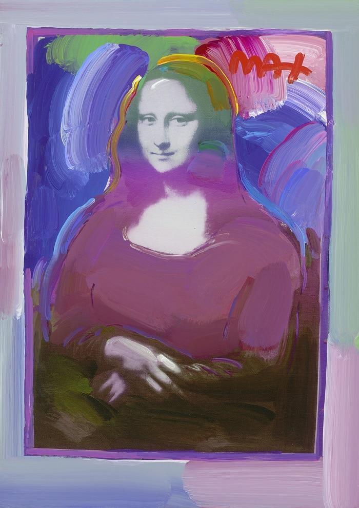 """Mona Lisa (Full Body) Ver. III #238"" by Peter Max"