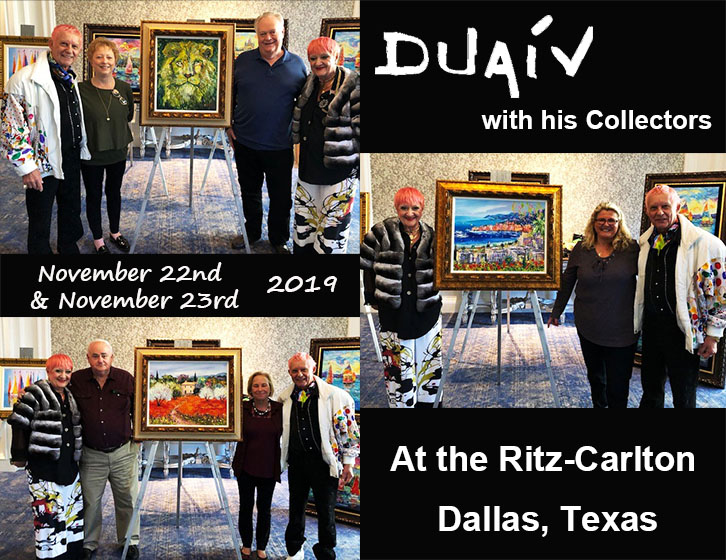 Duaiv meets with collectors