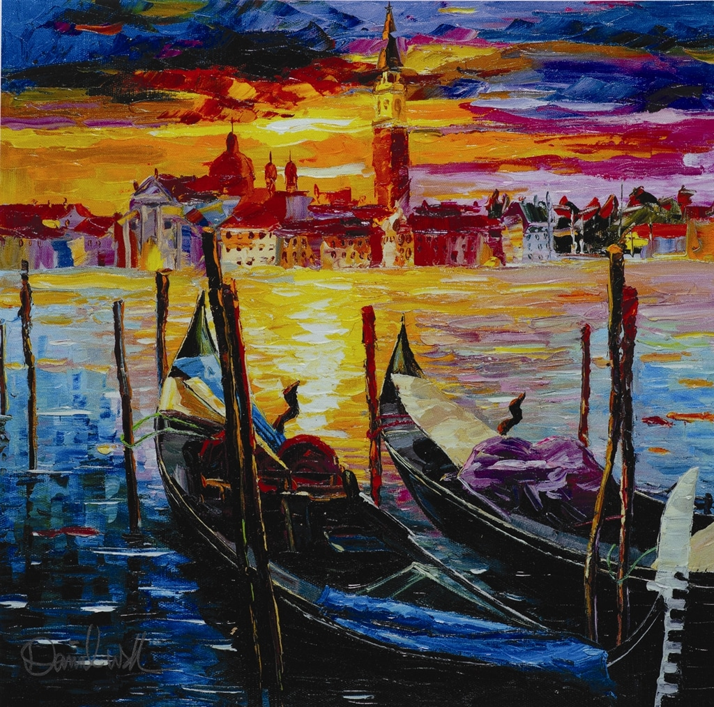 """The Stillness of Venice,"" Daniel Wall"