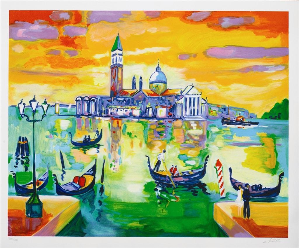 """San Giorgo a Venise,"" Jean-Claude Picot"