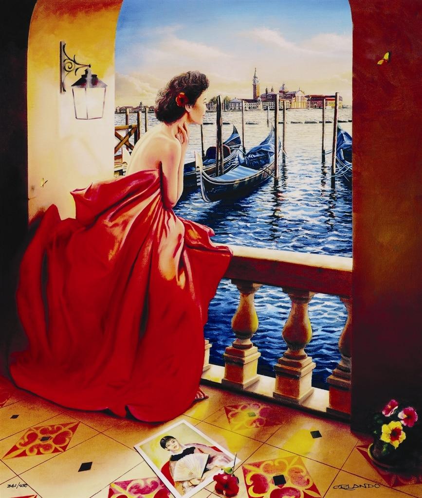 """Lady in Venice,"" Orlando Quevedo"