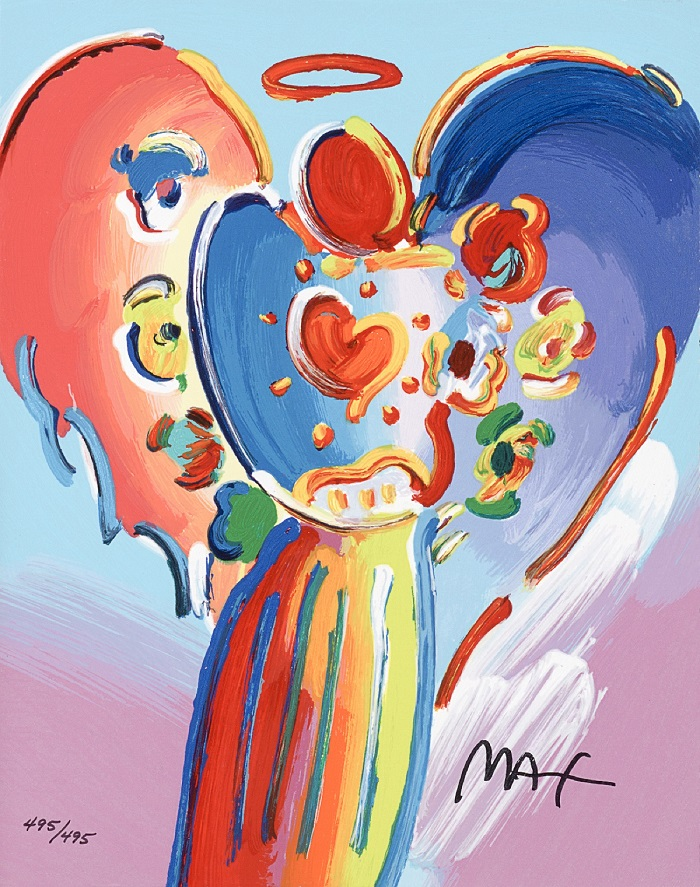 """Angel with Heart"" – Peter Max"