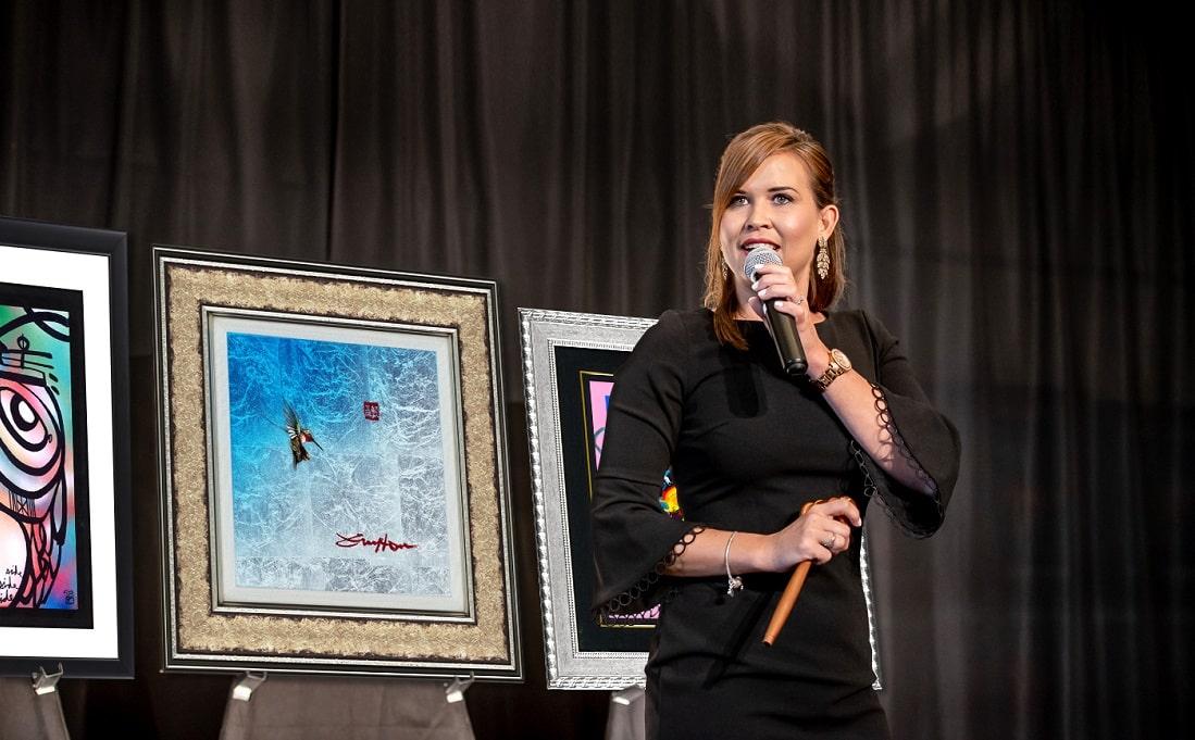 Park West Gallery Auctioneer Nikki van der Merwe