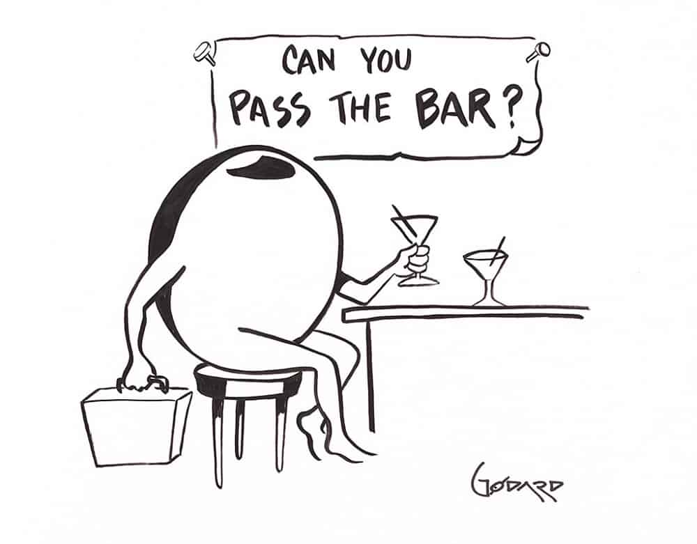 """Can You Pass the Bar?,"" Michael Godard"