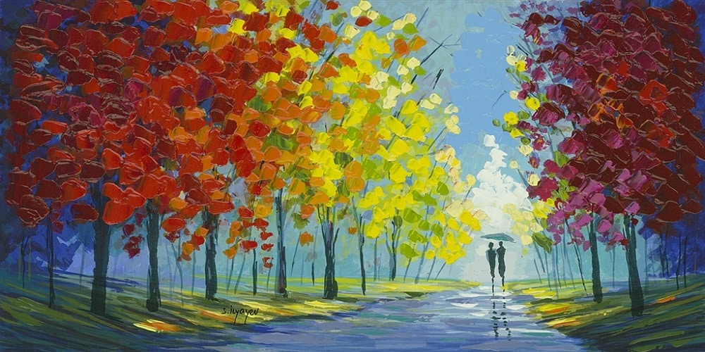 """Colorful Pathway,"" Slava Ilyayev"