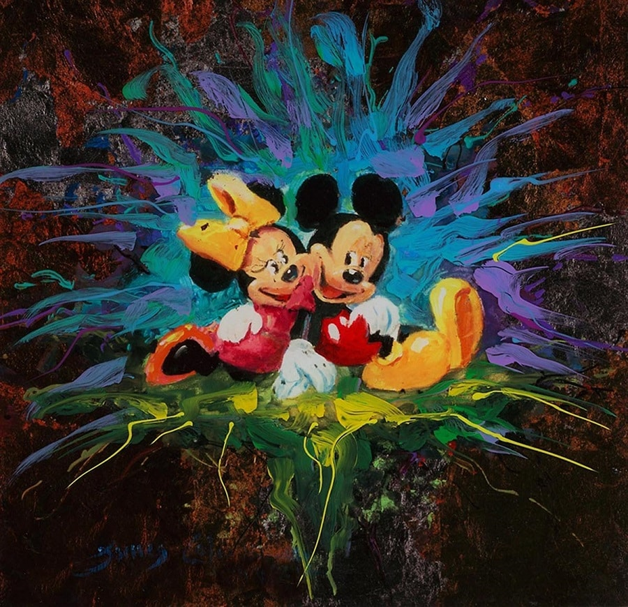 """Mickey and Minnie Forever,"" James Coleman"