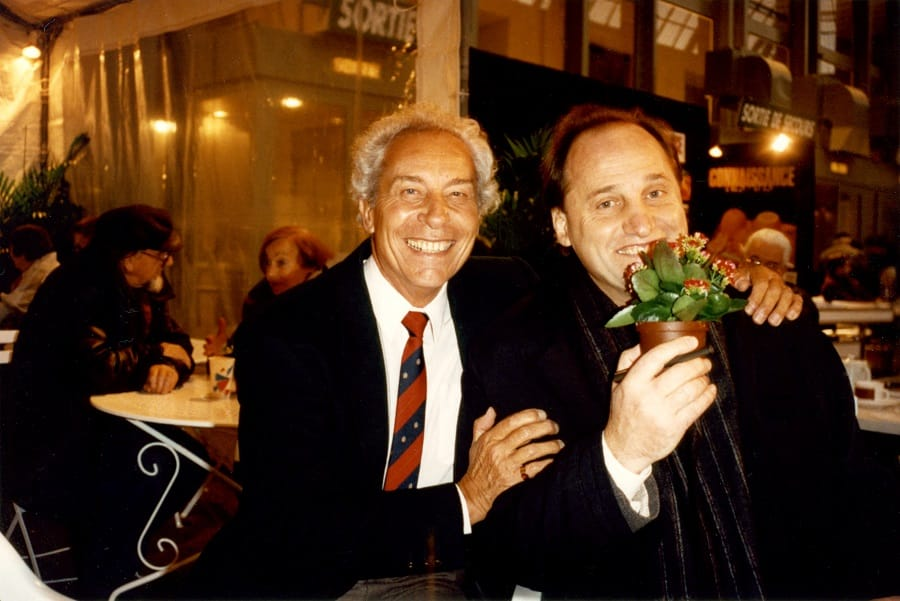 Jean-Claude Picot and Park West's Founder Albert Scaglione at Le Salon in Paris.