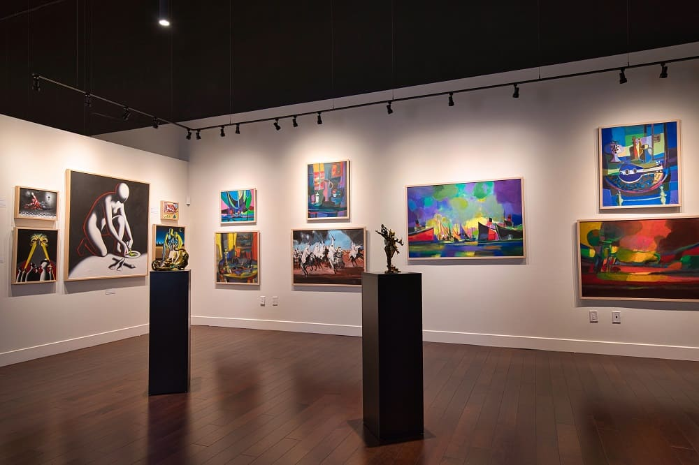 A look inside the new Park West Fine Art Museum & Gallery.