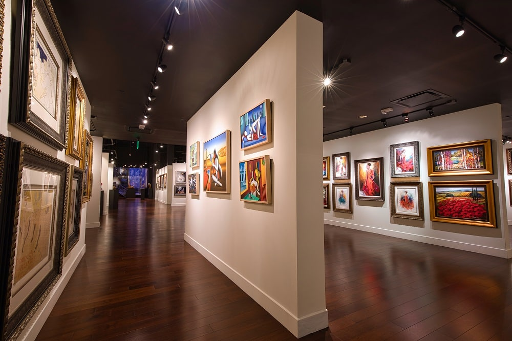 The new Park West Las Vegas location has over 7,000 square feet of world-class art.